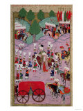 """Hunername"" the Army of Suleyman the Magnificent (1494-1566) Leave for Europe Giclee Print"