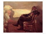 Lev Nikolaevich Tolstoy (1828-1910) 1901 Giclee Print by Leonid Osipovic Pasternak