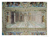 Triumph of Christianity, from the Raphael Rooms Premium Giclee Print by Tommaso Laureti