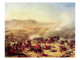 The Battle of Mont Thabor, 16th April 1799 Giclee Print by Felix Philippoteaux