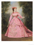 Hortense Schneider (1838-1920) 1868 Giclee Print by Alexis Joseph Perignon