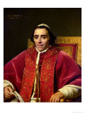 Portrait of Pope Pius VII (1742-1823), 1805 Giclee Print by Jacques-Louis David