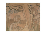 The Desire and the Satisfaction, 1893 Giclee Print by Jan Theodore Toorop
