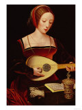 The Lute Player Giclee Print