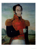 Simon Bolivar (1783-1830) Giclee Print by Arturo Michelena