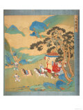 The Emperor Mu Wang (circa 985-circa 907 BC) of the Chou Dynasty in His Chariot Giclee Print