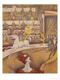 The Circus, 1891 Gicléedruk van Georges Seurat