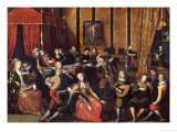 The Spanish Concert Or, the Gallant Rest Giclee Print by Louis de Caullery