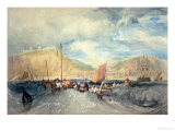 Hastings from the Sea Giclee Print by William Turner