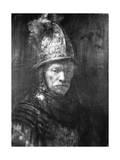 Portrait of a Man with a Golden Helmet, 1648 Giclee Print by  Rembrandt van Rijn