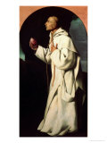 Portrait of the Devout John Houghton Giclee Print by Francisco de Zurbarán