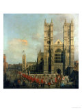 Procession of the Knights of the Bath Giclee Print by  Canaletto