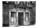 Entrance of a Brothel in Paris, 106 Rue De Suffren, circa 1900 Giclee Print by Eugene Atget