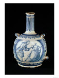 Bottle Depicting a Dentist Giclee Print