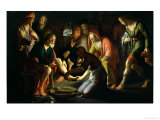 Christ Washing the Disciples&#39; Feet, 1623 Giclee Print by Peter Wtewael