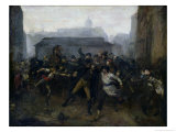 The Spy, Episode of the Siege of Paris, 1871 Giclee Print by Jean-Baptiste Carpeaux