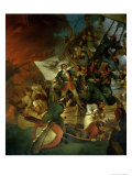 Capture of Azov, 18th May 1696 Giclee Print by Sir Robert Kerr Porter