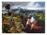 St. Christopher Premium Giclee Print by Joachim Patenir