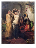 The Toilet in the Seraglio Giclee Print by Theodore Chasseriau