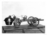 Steam Powered Car, Giclee Print