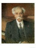 Gabriel Faure (1845-1924) Giclee Print by Ernest-Joseph Laurent