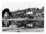 The River Nahe, Bad Kreuznach, circa 1910 Giclee Print by  Jousset