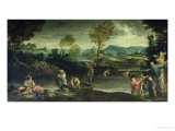 Fishing Giclee Print by Annibale Carracci