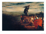St. Anthony Preaching to the Fish, circa 1580 Giclee Print by Paolo Veronese