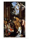 The Last Sacrament of St. Jerome, 1614 Giclée-tryk af Domenichino