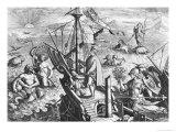 Amerigo Vespucci (1454-1512) Giclee Print by Jan van der Straet