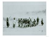 Prisoners in Siberia, 1897 Giclee Print