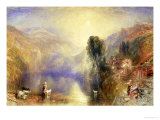 Lake Nemi Giclee Print by William Turner