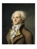 Portrait of Maximilien De Robespierre (1758-94) Premium Giclee Print