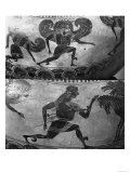 Attic Black-Figure Dinos Depicting Perseus Fleeing from the Gorgons, circa 590 BC Giclee Print