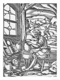 The Potter, 1574 Giclee Print by Jost Amman