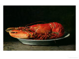 Lobster, 1878 Giclee Print by Guillaume Romain Fouace