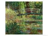 Waterlily Pond: Pink Harmony, 1900 Giclee Print by Claude Monet
