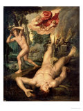 The Death of Abel Giclee Print by Michiel Coxie