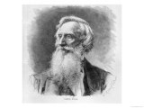 Portrait of Samuel Morse (1791-1872) Engraved by C. Robertson (Xylograph) Giclee Print by A. Gilbers