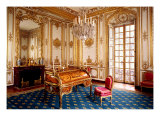 Louis XV&#39;s Private Study, 1753-60 Giclee Print by Jacques-Ange Gabriel