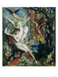 Leda Giclee Print by Gustave Moreau
