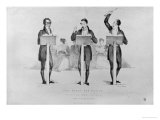 Carl Maria Von Weber (1786-1826) at Covent Garden Theatre Leading His Celebrated Opera Giclee Print by Sir George Hayter