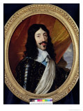 Portrait of Louis XIII (1601-43) after 1610 Giclee Print by Philippe De Champaigne