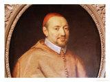 Portrait of Cardinal Pierre De Berulle (1575-1629) Giclee Print by Philippe De Champaigne