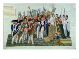 Oath of the Districts, February 1790 Giclee Print by  Le Sueur Brothers