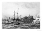 The Port of New Orleans Giclee Print by Charles de Lalaisse