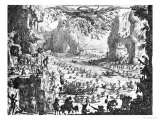The Temptation of St. Anthony Giclee Print by Jacques Callot
