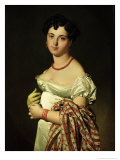 Madame Henri-Philippe-Joseph Panckouke (1787-1865) 1811 Giclee Print by Jean-Auguste-Dominique Ingres
