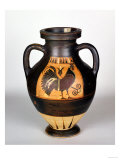 Amphora Depicting a Cockerel, Corinthian Style (Pottery) Giclee Print