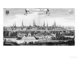 View of Lubeck Giclee Print by Matthaus Merian